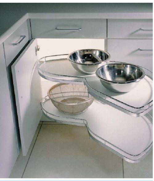 Řešení pro kuchyně ve tvaru L